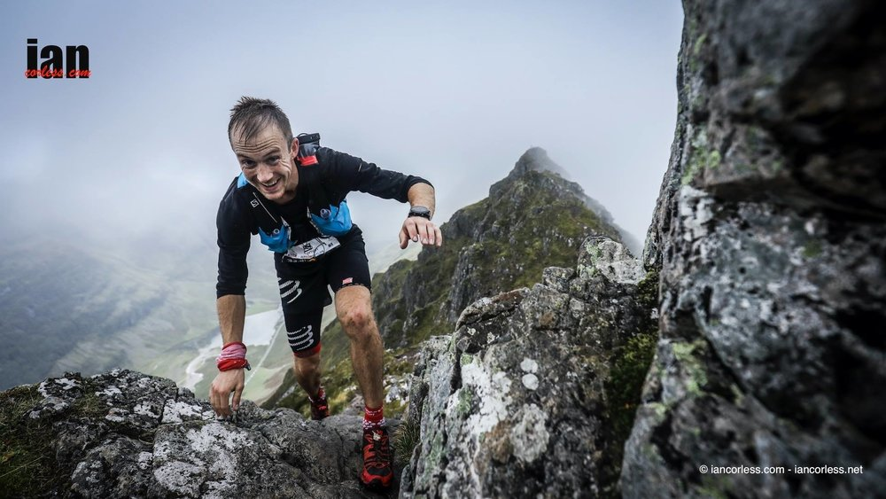 This years winner, Jonathan Albon on his way to completing the race in an outstanding 06h33m © iancorless.com