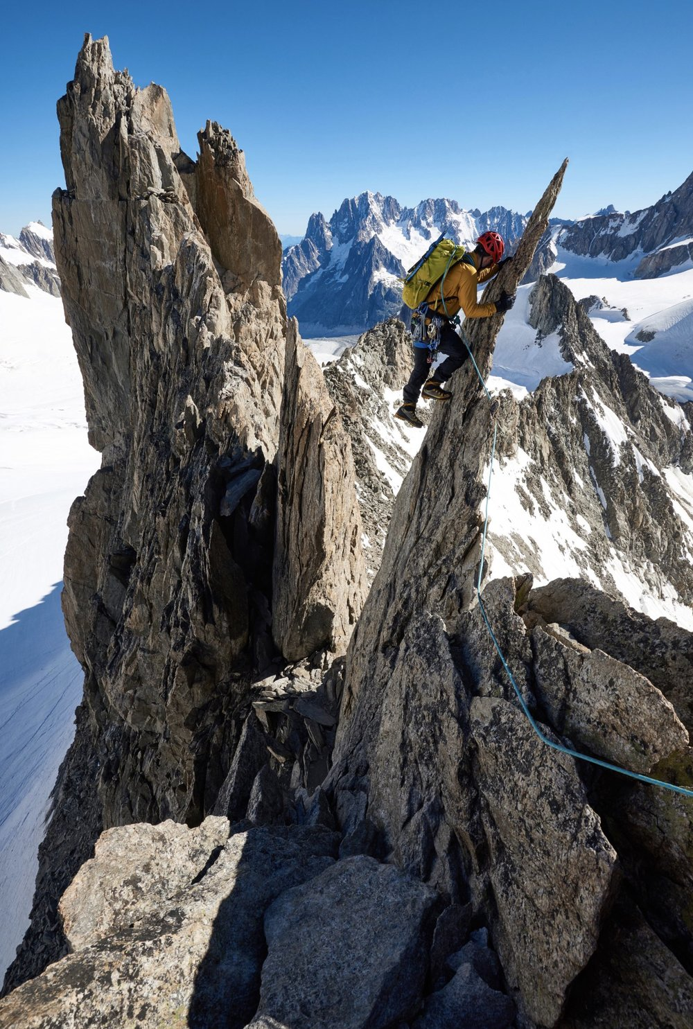 Following The Course, I Spent A Further Few Days In The Alps Climbing With A