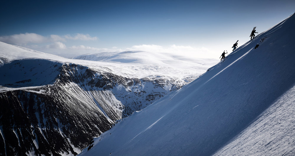 Putting in the hard yards in the Cairngorms
