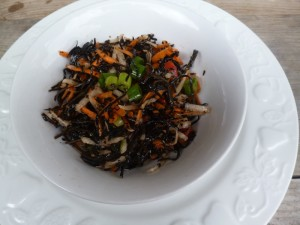Arame Seaweed Salad: loaded with iodine and a great lunch addition