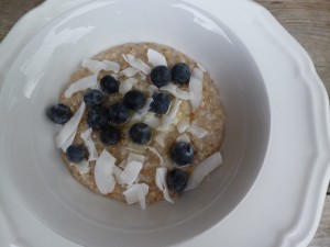 Oatmeal with stealth eggs- (shhhhhhh)