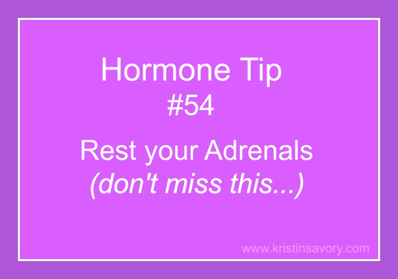 adrenals rest