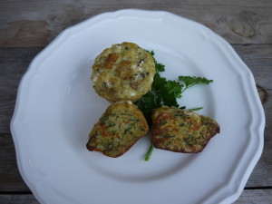 My very veggie quiche muffins just waiting to be gobbled up!