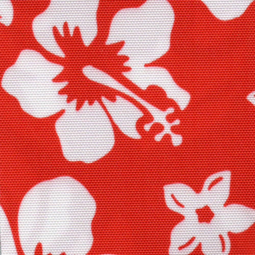Hawaiian Print Red