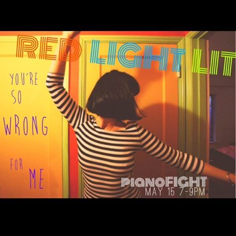 Please join us this Sunday at Piano Fight!  #RedLightLit #sanfrancisco #poetry #pianofight