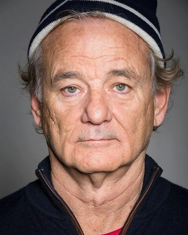 """Actor Bill Murray's advice on relationships: """"If you have someone that you think is The One, don't just say, 'OK, let's pick a date. Let's get married.' Take that person and travel around the world. Buy a plane ticket for the two of you and go to places that are hard to go to and hard to get out of. And if, when you come back, you're still in love with that person, get married at the airport."""" #RedLightLit #billmurray #lifeadvice"""