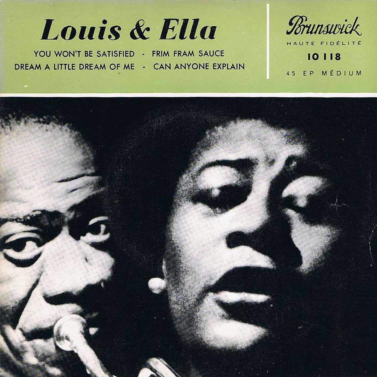 Dream A Little Dream Of Me Ella Fitzgerald Louis Armstrong