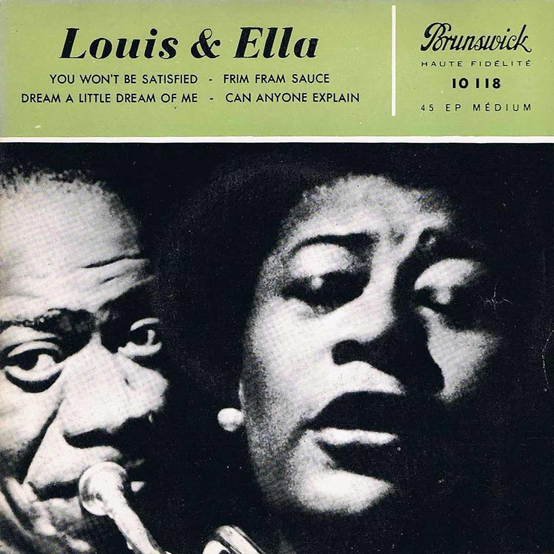 Dream A Little Dream Of Me Ella Fitzgerald Louis Armstrong