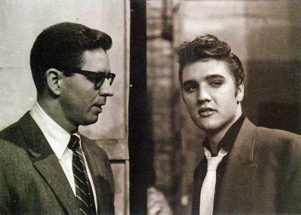 Bill Randle & Elvis Presley