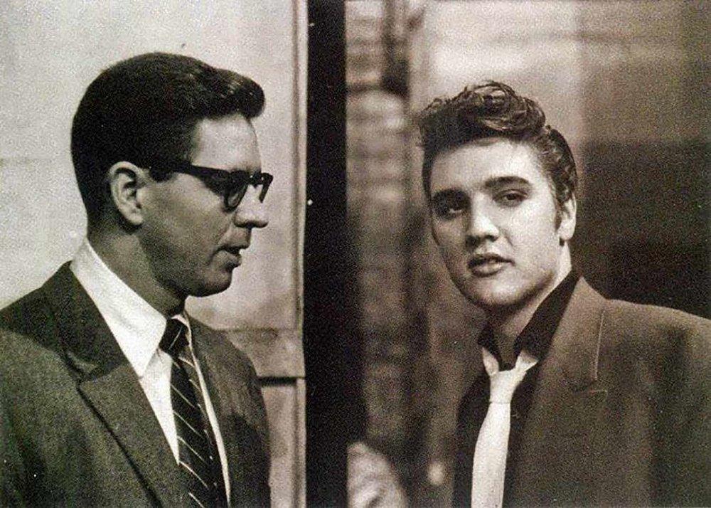 Bill Randle & Elvis Presley