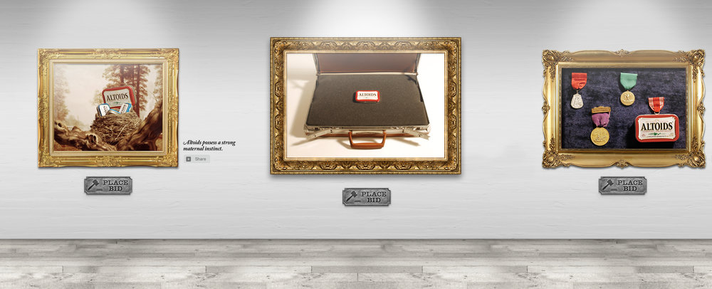 Need a soviet issued briefcase to transport your Altoids? All you had to do was place a bid.