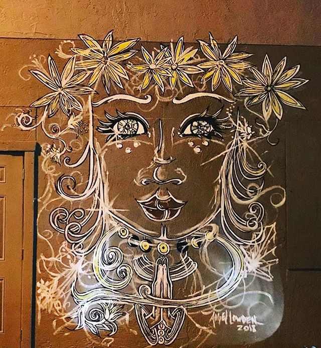 Featured Artist: @angellowden Angel has been a working artist and professional muralist in Volusia County since the early 90s. She's an expert of materials, an educator of technique, and a creative at heart. Ask angel about commissions, faux finishes, private classes, and the works!