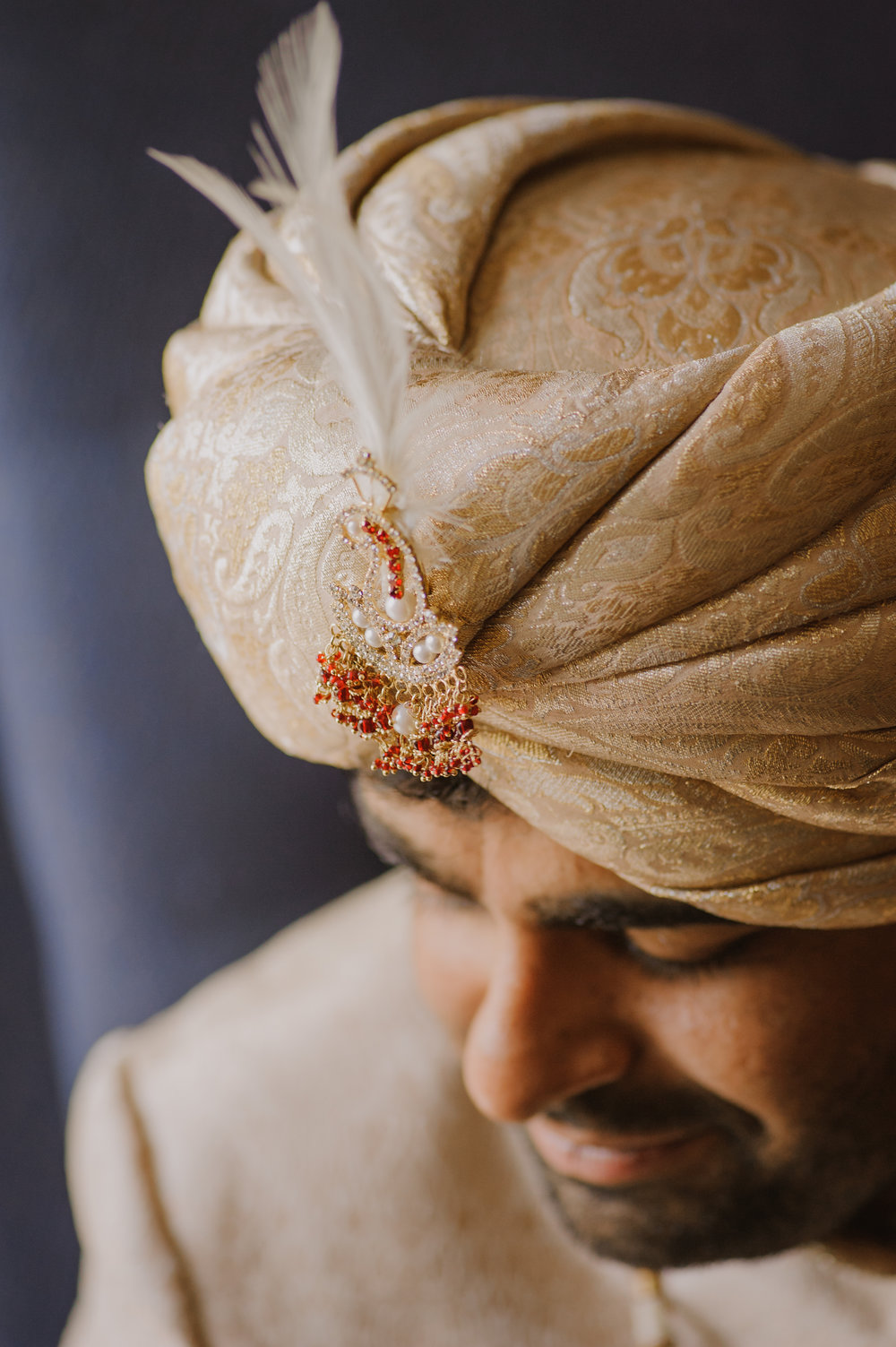 PUNJABI GROOM TURBAN TYING
