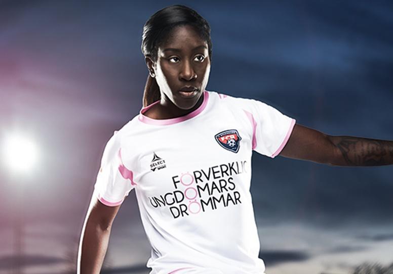 Anita Asante signed for FC Rosengard in 2013
