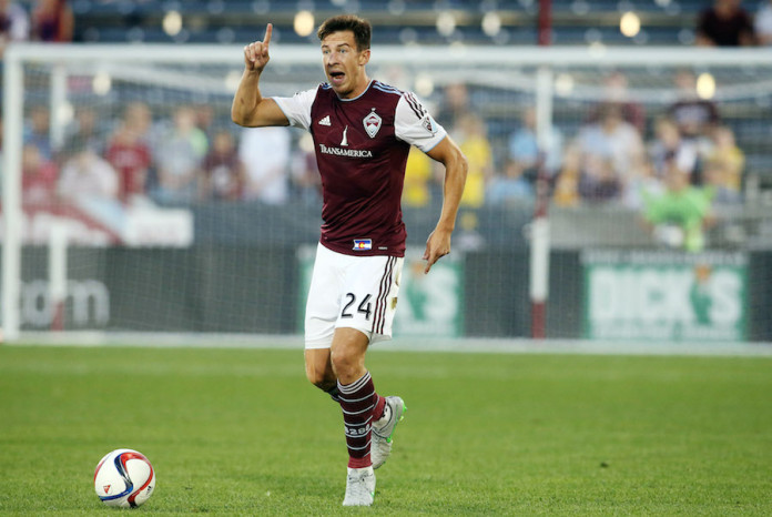 Leading the back line for Colorado Rapids