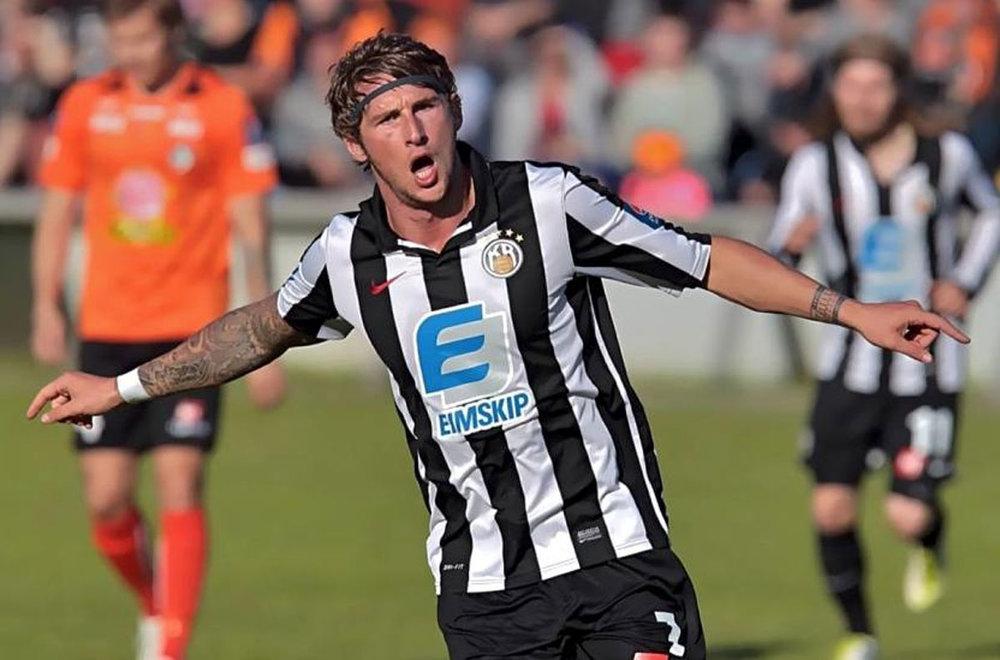 Scorer of 41 goals for KR Reykjavík in Iceland