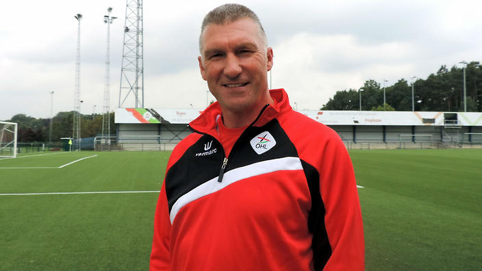 Nigel Pearson looking at home in Leuven