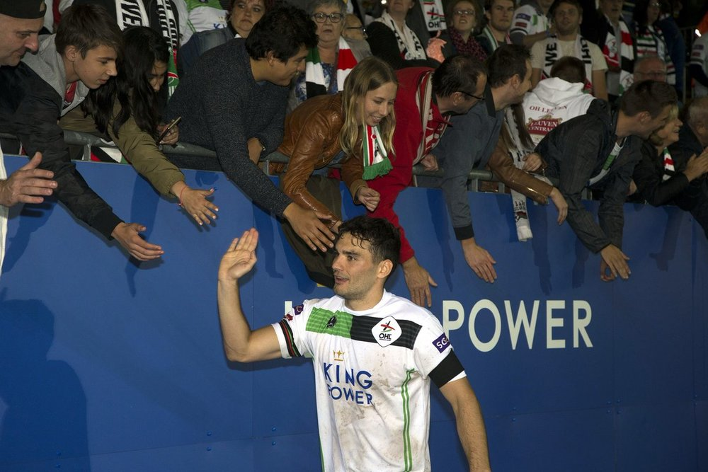 High fives all round for Tony Watt