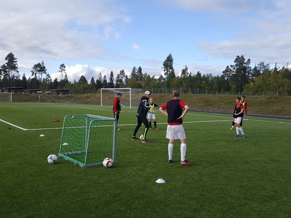 Coaching the younger generation of IFK Ostersund players