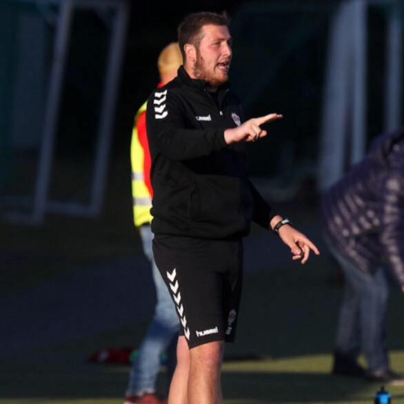 Þrottur Reykjavik's Head of Goalkeeping, Jamie Brassington