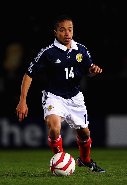 International honours with Scotland