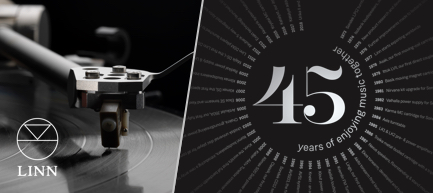 Linn: 45 years of enjoying music together.