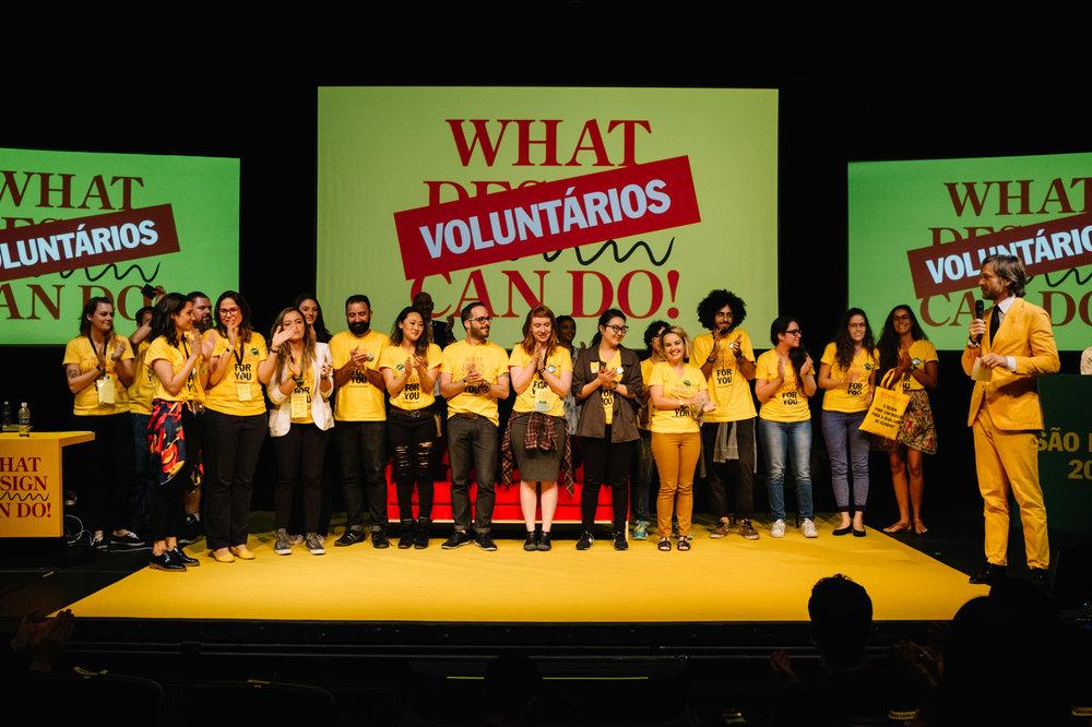 Voluntários WDCDSP 2015