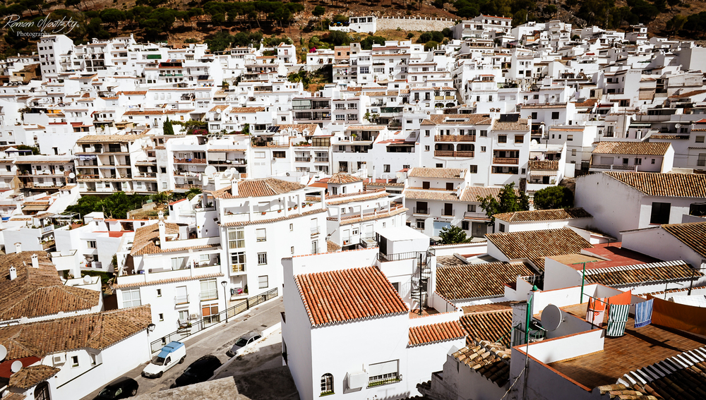 The roofs of Mijas - Andalucia