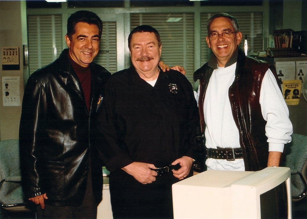 Joe Mantegna, Robert B. Parker and Michael
