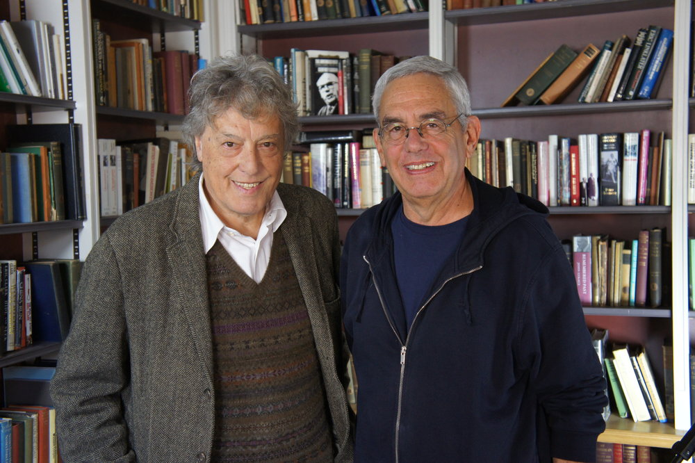 Tom Stoppard and Michael