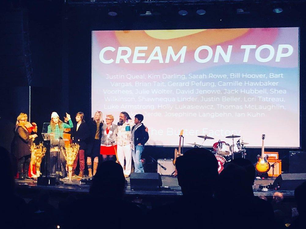 Cream on Top