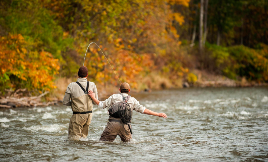 Guided Fly Fishing Instruction With Esopus Creel Scribners