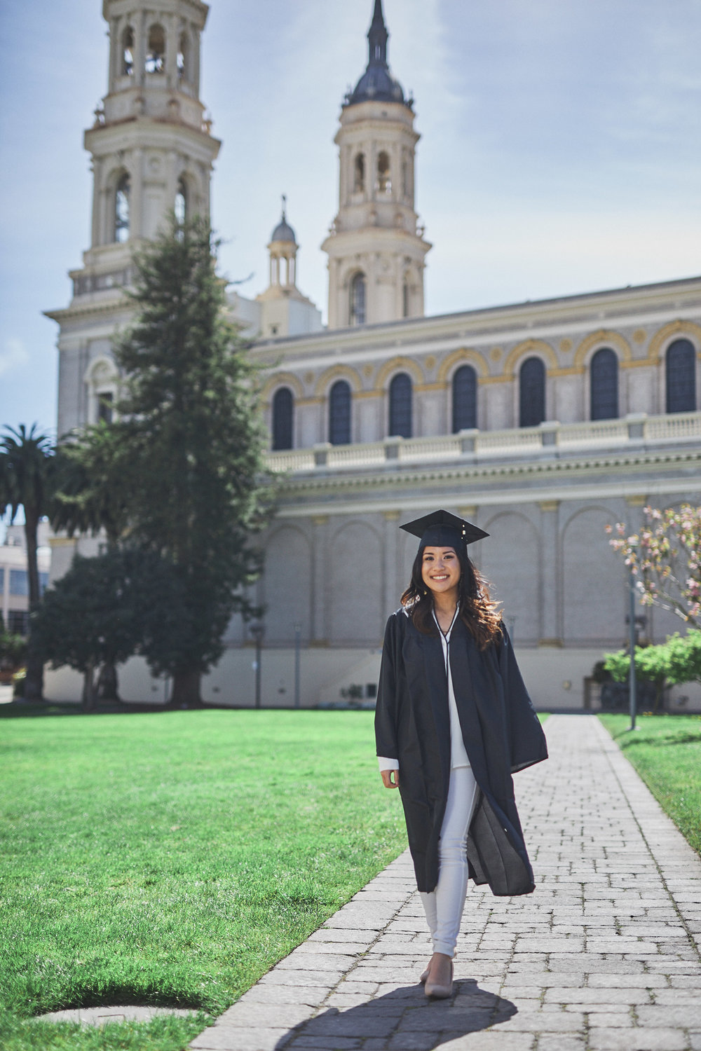 Elyssa May Graduation Photoshoot at University of San Francisco