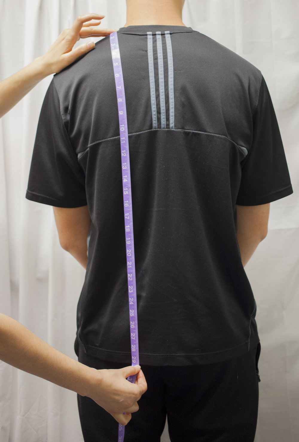 11. Shoulder to Hem (Back)