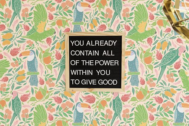 #GIVEGOOD today!