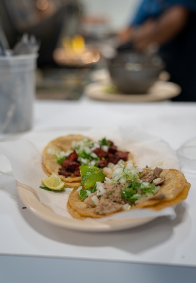 Real Authentic Tacos. - Give your taste buds what they deserve and enjoy the real authentic taste of La Estrella Tacos. These mouthwatering tacos are made with love and boy do they pack a punch of taste. Come and taste why our tacos have been taking Lawrence by a storm.Los Famosos Taco $1.50