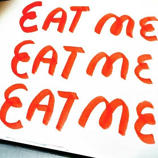 Eat Me Sketch