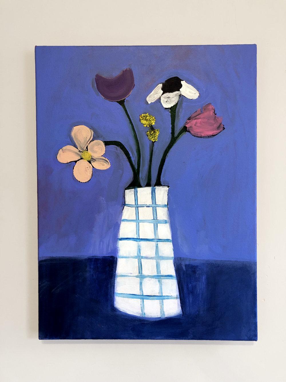 Flowers + Paint
