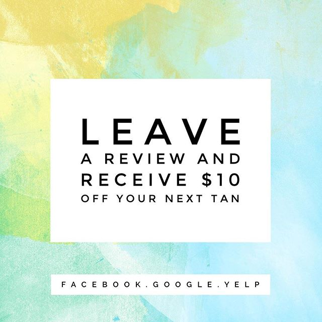 Hey babes! If you would be so kind as to leave me a review on Facebook, Google, or Yelp I'll give you $10 off your next tan!  #spraytan #airbrushtan #gainesvilleva #gainesvillevaspraytan #haymarketva #haymarketvaspraytan #beauty #skincare #sunless #review *for current clients only. Limit one per client*