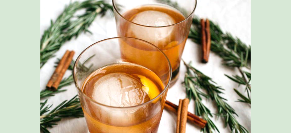 Cinnamon Rosemary Old Fashioned | Photo: Salted Plains