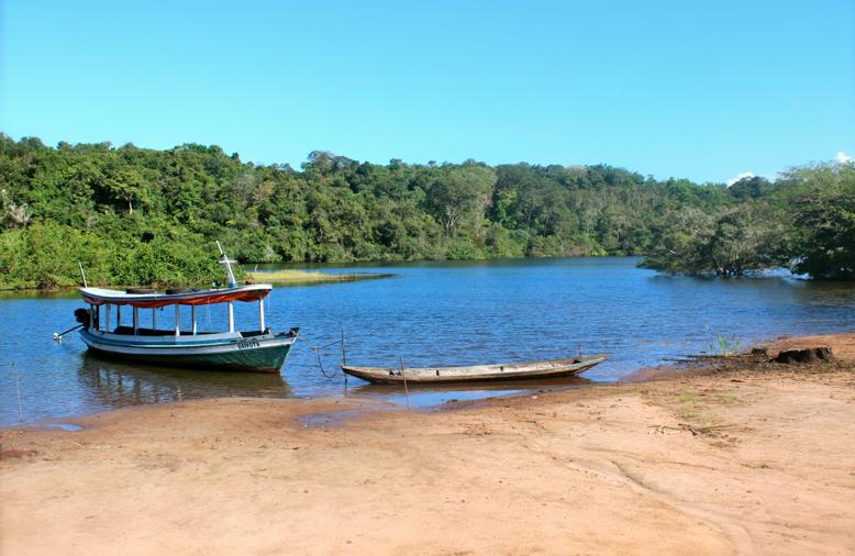 Beira do Rio Arapiuns.