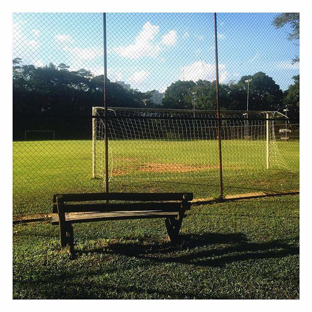 Campinho do Parque Villa Lobos em São Paulo! Um ótimo sábado para todos! ✌🏼️⚽️ #GingaFc #Futebol #Campinho #SaoPaulo #Brasil