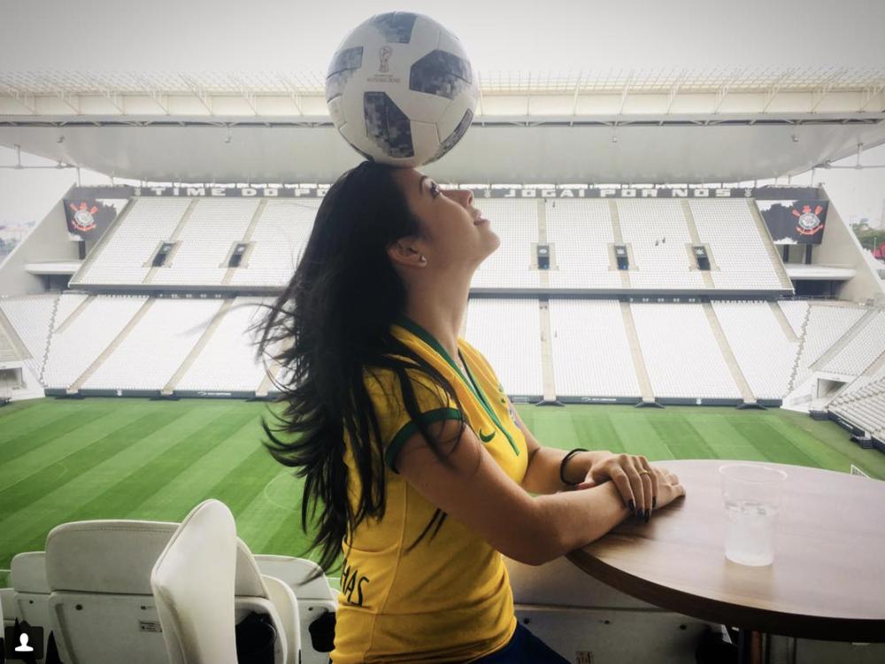 Raquel no Itaquerão