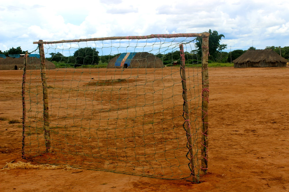 Aldeia Utawana no Xingu: Redes feitas 100% de garrafas pet