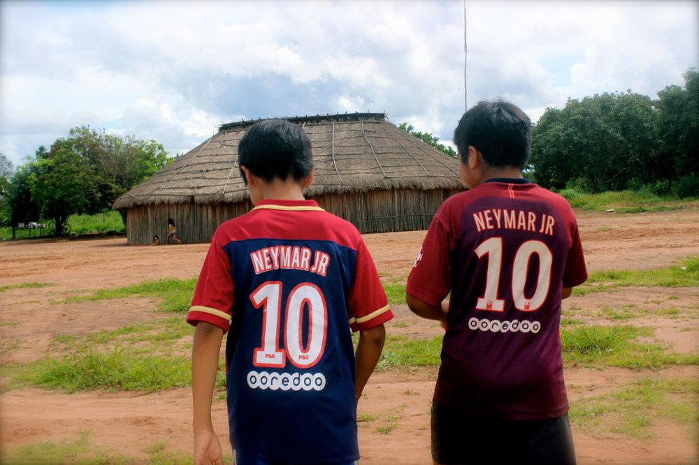 Neymar Jr: ídolo da molecada