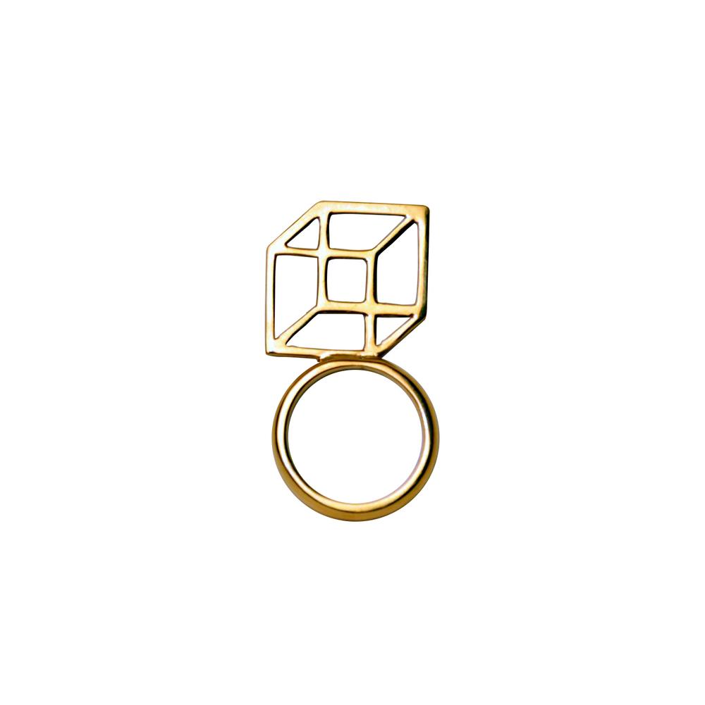 Bespoken cube ring Margherita Potenza