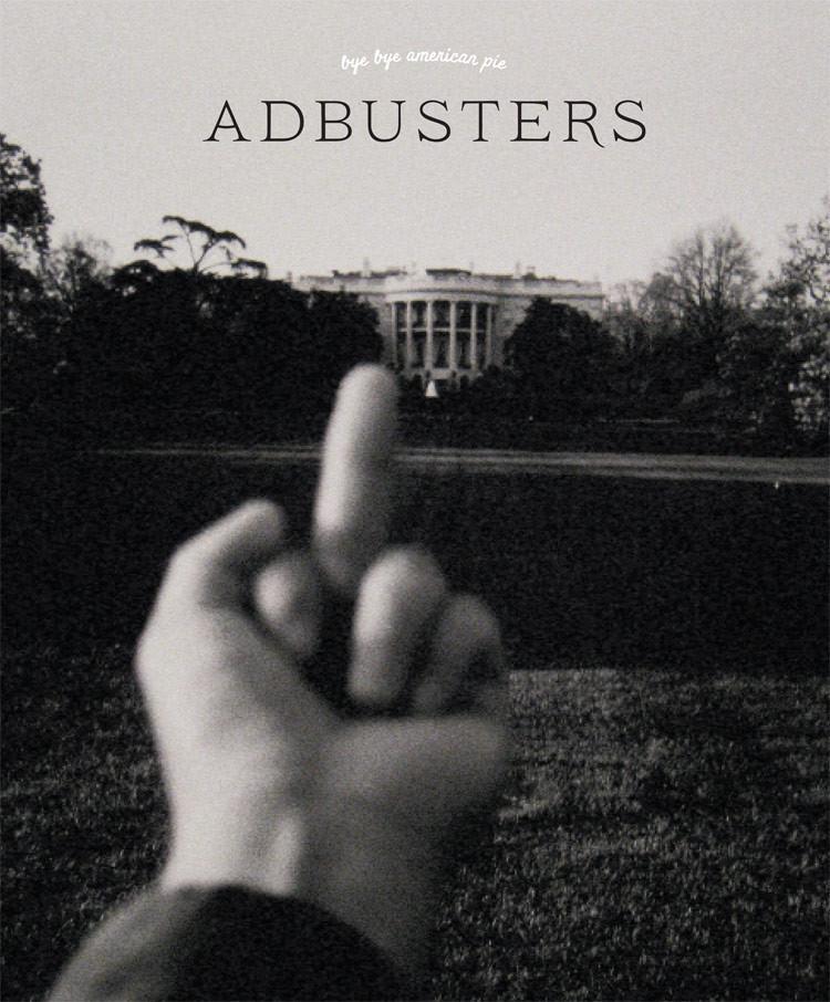 Adbusters bye bye american pie