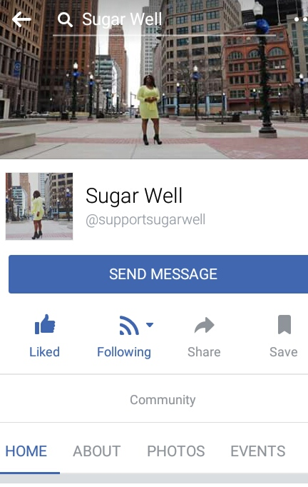 Click 2 Like her FaceBook Page and be updated wither her new music