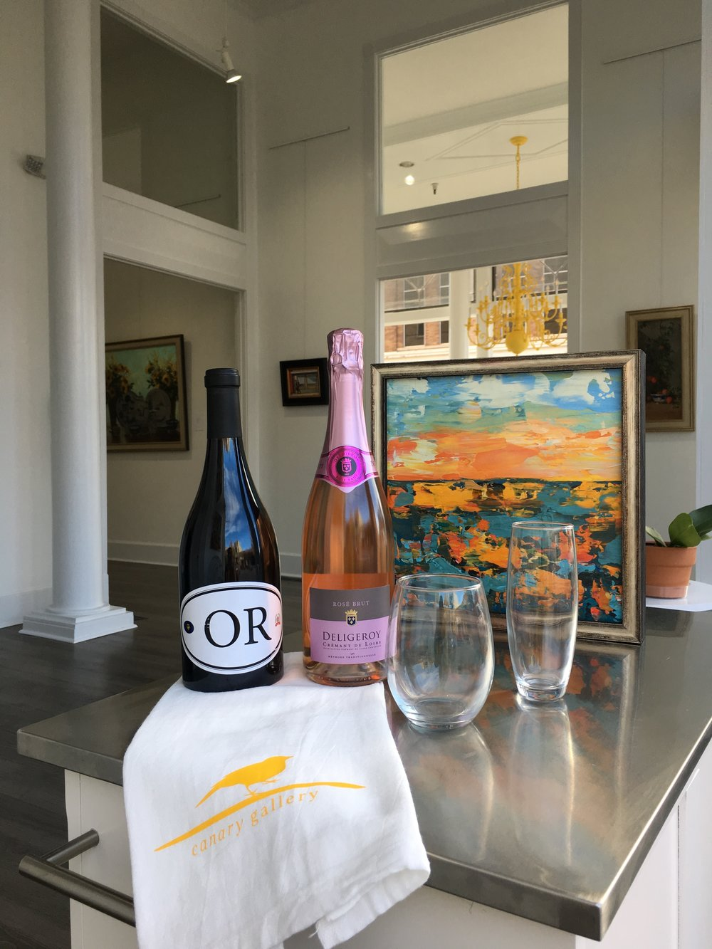 Locations Pinot Noir and Deligeroy Cremant Rose Brut