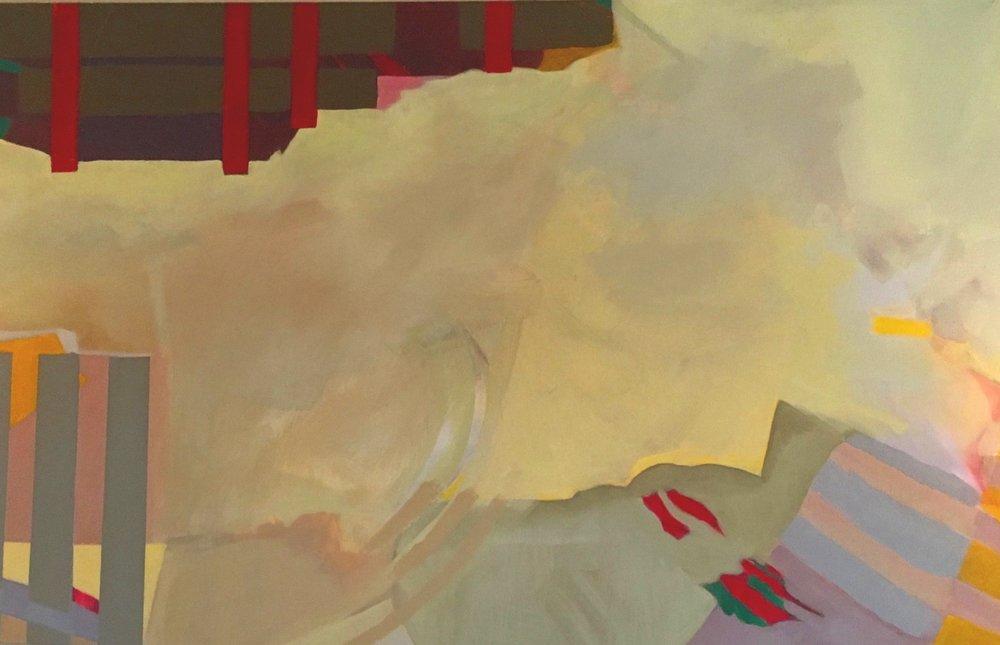 Interruption 72 x 40 by Beverly Erdreich
